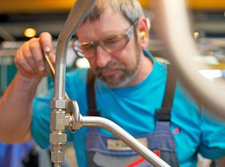 Rohrleitungsfertigung – Komplette Module